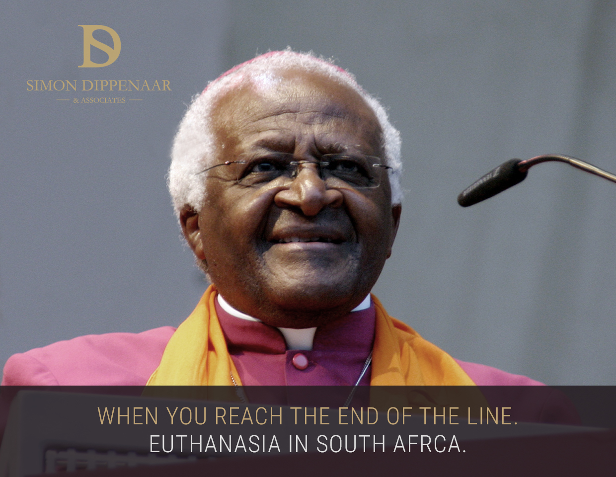 Desmond Tutu - Euthanasia in South Africa