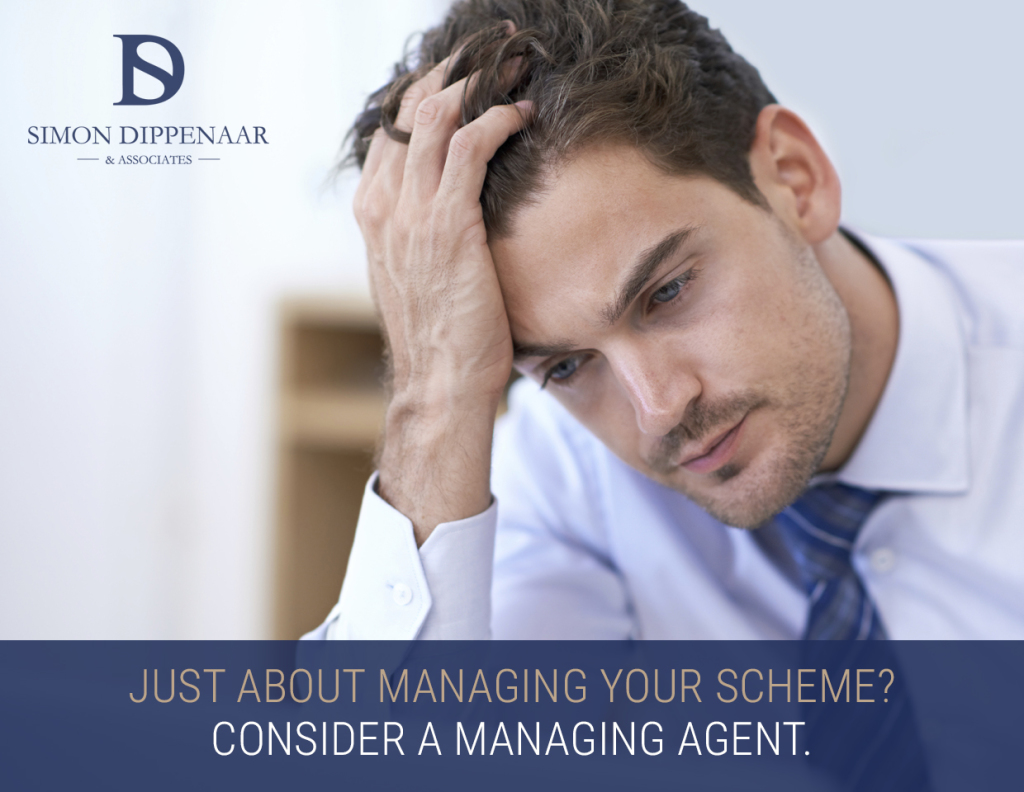 Managing agent for scheme