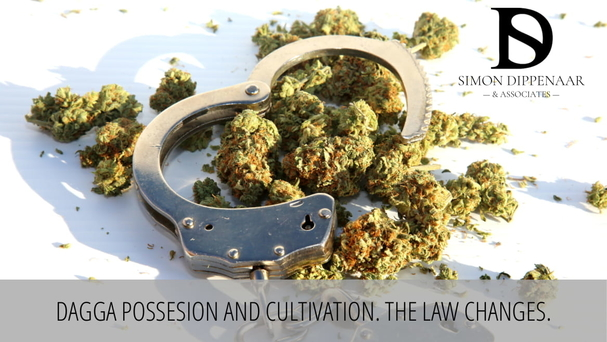 Dagga possession and cultivation - the law changes