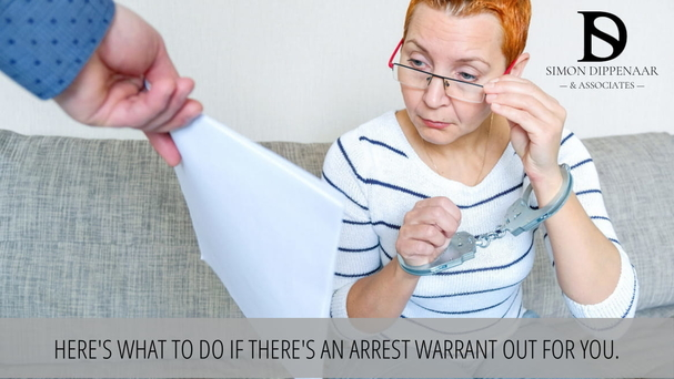 Here's what to do if there's an arrest warrant out for you.