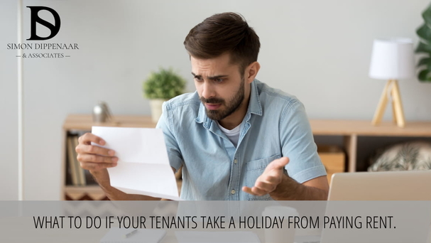 You don't want to make your tenants homeless over the festive season, but if they fail to pay rent you are entitled to start the eviction process.