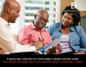Will and family law