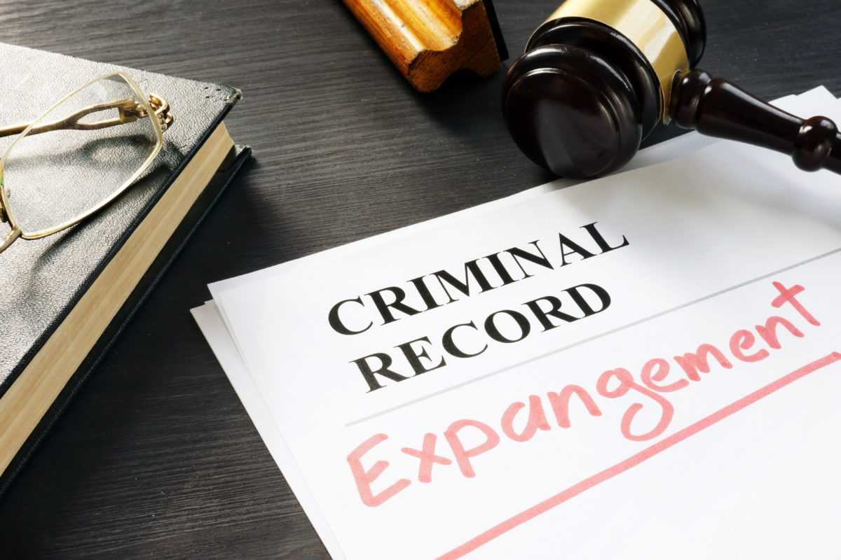Expungement of criminal record