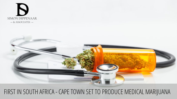 First in South Africa – Cape Town set to produce medical marijuana