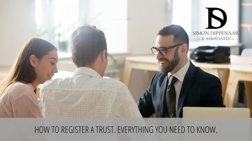 How to register a trust