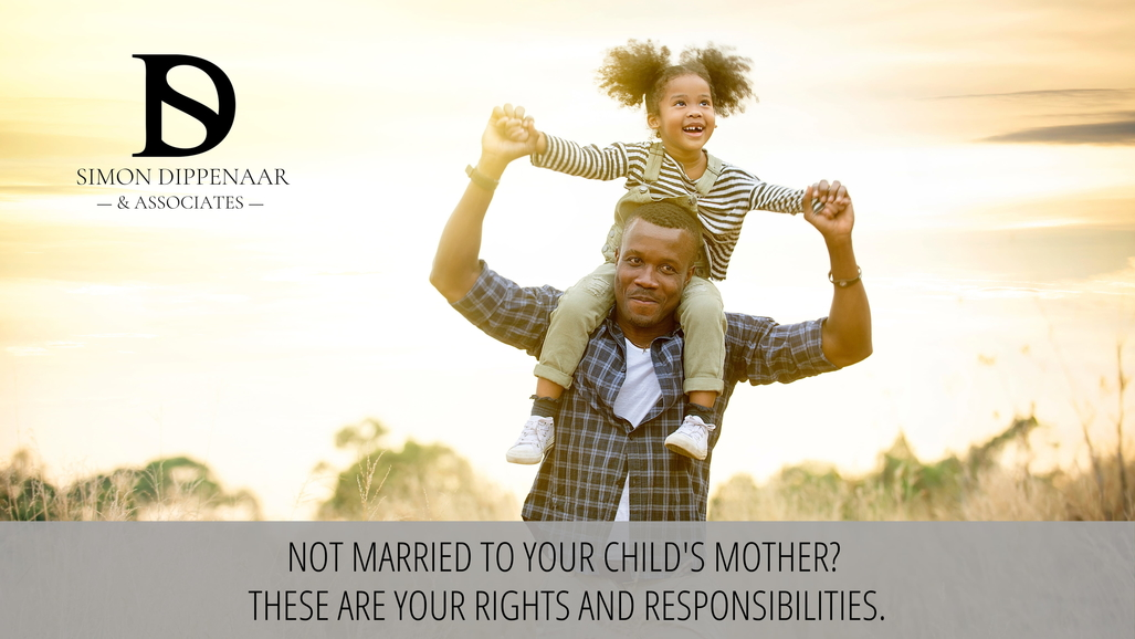 Unmarried with children custody in South Africa