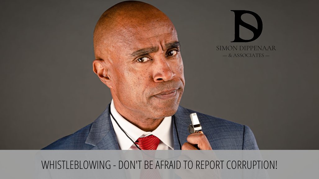 Whistleblowing and corruption in South Africa